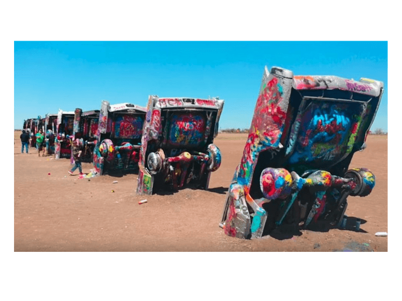 Cadillac Ranch 1 - Historic Route 66 – Trip Planner