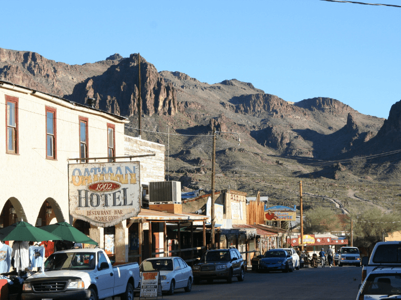 Oatman Arizona - Historic Route 66 – Trip Planner