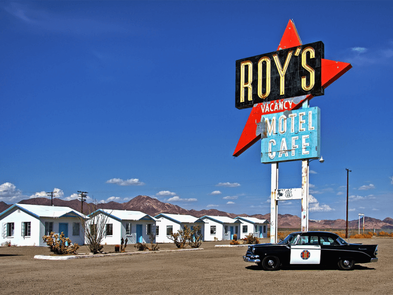 Roys Route 66 Motel Cafe and Gas Station - Historic Route 66 – Trip Planner