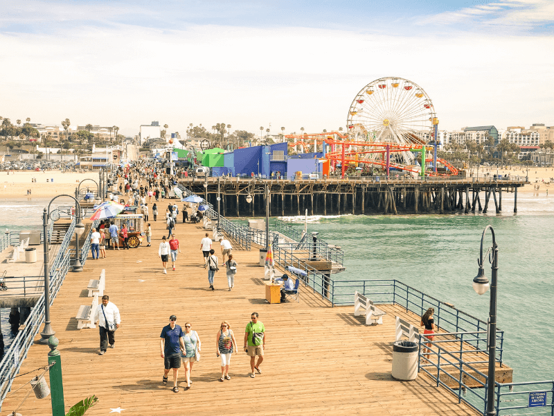 Santa Monica Pier - Historic Route 66 – Trip Planner
