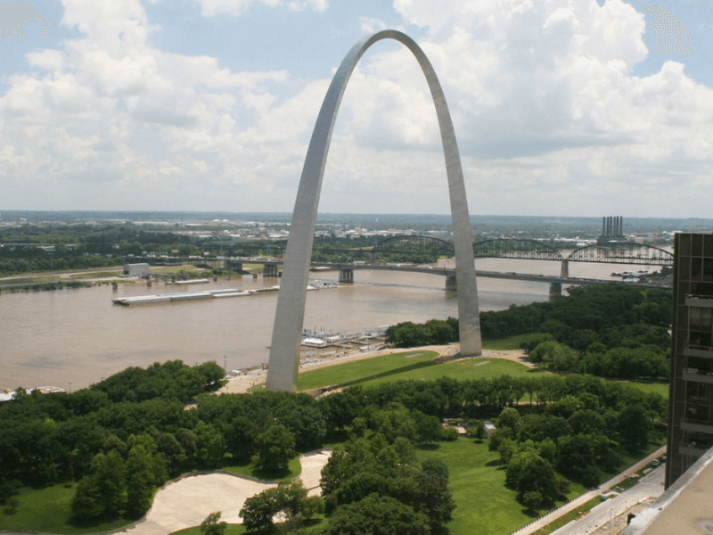 St. Louis Gateway Arch - Historic Route 66 – Trip Planner