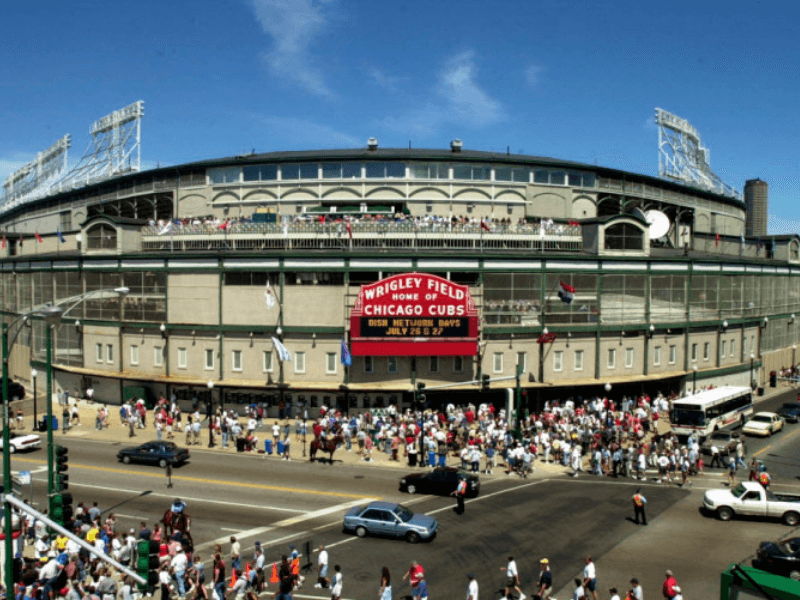 Wrigley Field - Historic Route 66 – Trip Planner