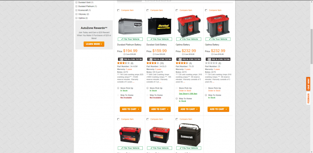 auto zone batteries 1024x502 - Car Battery Buying Guide