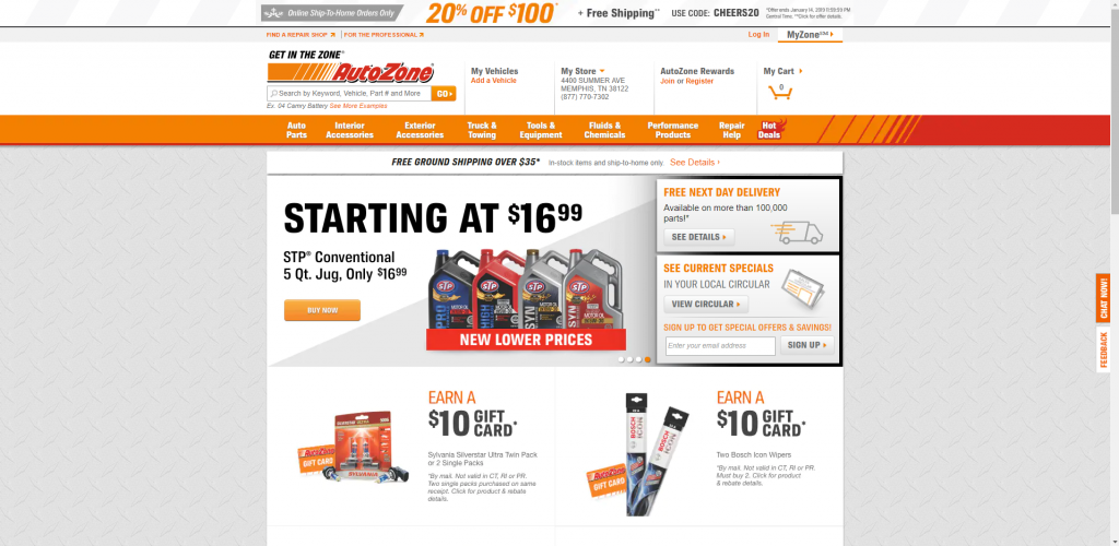 auto zone car battery 1024x500 - Car Battery Buying Guide