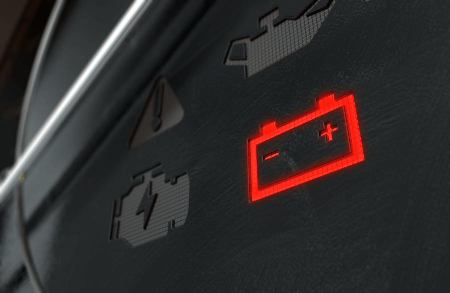 battery light car dashboard - Battery Light On – Battery Indicator Light