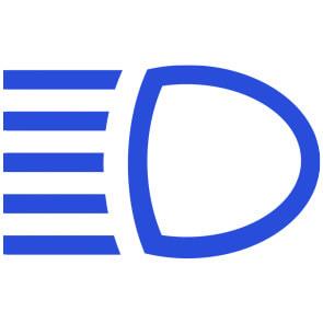 high beam light indicator symbol 1 - High Beam Indicator Light