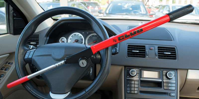 Steering Wheel Lock - Protecting Your Vehicle Against Car Theft