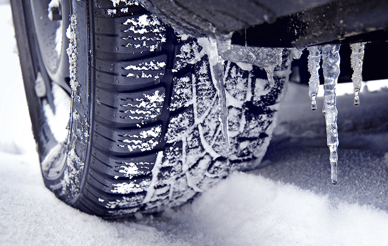 tires for snow - Car Care Tips for Winter