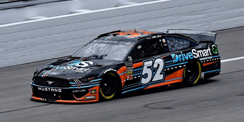 JJ Yelley Mustang 2019 NASCAR - DriveSmart Sponsors J.J. Yeley in Daytona for NASCAR Cup Series