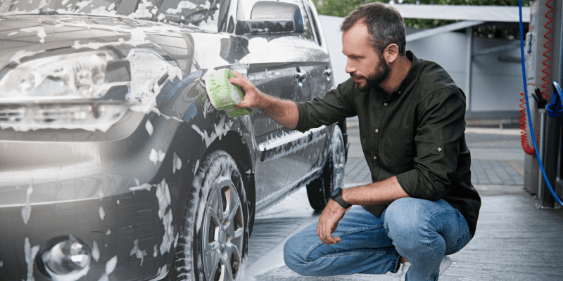 car wash - Longest Lasting Cars: How to Extend the Life of Your Car