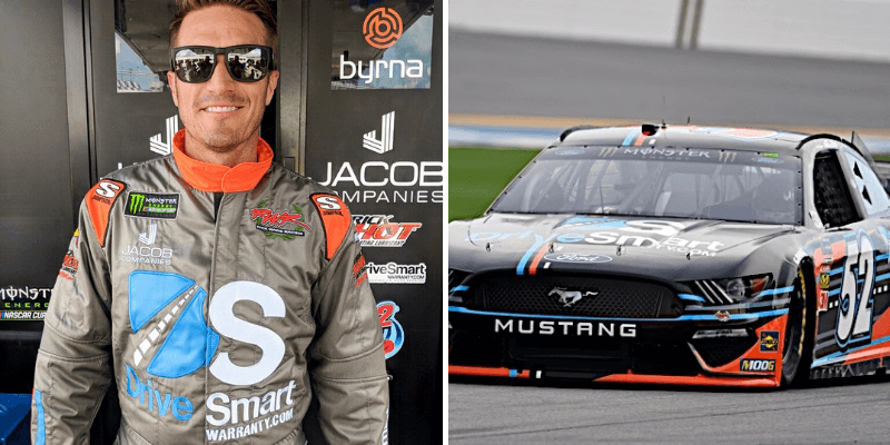 jj yeley - DriveSmart Sponsors J.J. Yeley in Daytona for NASCAR Cup Series