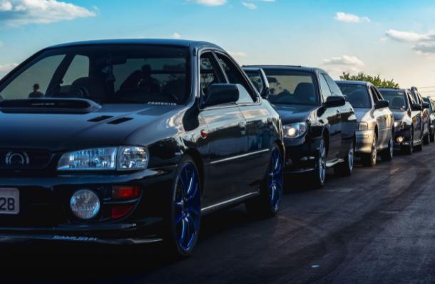 New Cars on a Car Lot